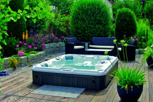 Backyard Hot Tub Installation