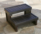 Synthetic Hot Tub Steps